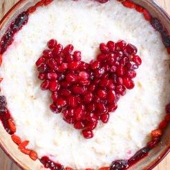 Pomegranate, Glutenfree Porridge, Goji Berries, Jam