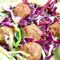 Falafel Slaw Salad